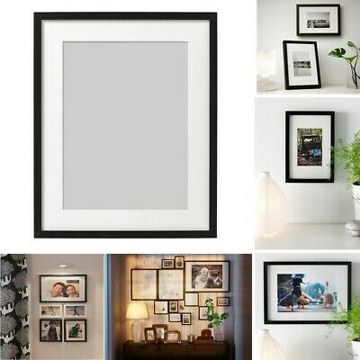 Ikea RIBBA Photo Picture Frame Display Image Hanging/Standing Frame 40x50 Cm • 16.99£