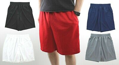 $9.99 • Buy Men's Gym Basketball Shorts Athletic Workout Active Mesh Short With 2 Pockets