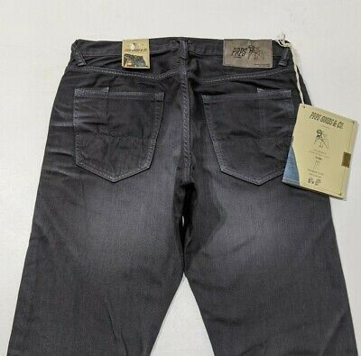 New PRPS Fury Japanese Denim Mens Jeans Tapered Fit Charcoal W31 L34 RRP £298 • 125£