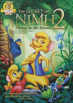 Secret Of Nimh: Timmy To The Rescue [DVD] New! [DB17] • 5.75£