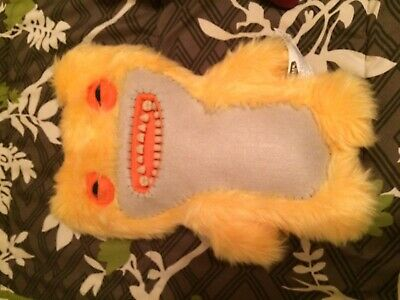 $ CDN25 • Buy NEW Spin Master FUGGLER Funny Ugly Monster  Yellow 12 Inch