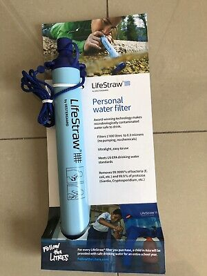 AU30 • Buy Lifestraw Personal Water Filter Brand New