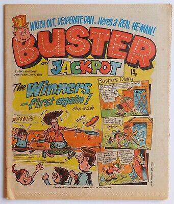 BUSTER Comic - 27th February 1982 • 2.99£