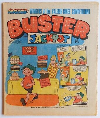 BUSTER Comic - 6th March 1982 • 2.99£