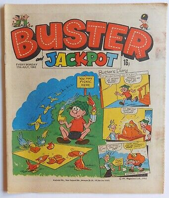 BUSTER Comic - 17th July 1982 • 2.99£