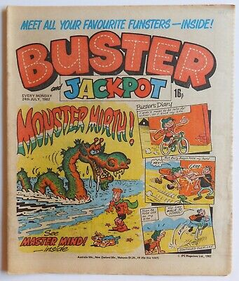 BUSTER Comic - 24th July 1982 • 2.99£