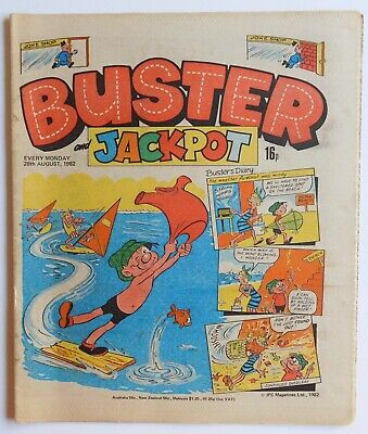 BUSTER Comic - 28th August 1982 • 2.99£