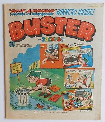 BUSTER Comic - 4th December 1982 • 2.99£