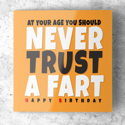 £2.49 • Buy Funny Birthday Card For Him Male Men Dad Cousin Brother Friend Rude Humour Joke