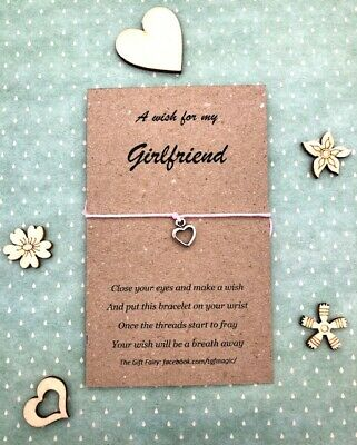 £1.95 • Buy Girlfriend Wish Bracelet - Other Colours Available