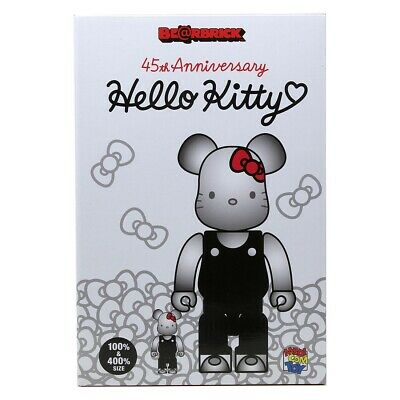 $160 • Buy Medicom BE@RBRICK Hello Kitty Generation 00s 100% 400% Bearbrick Figure Set