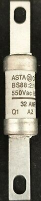 32A Motor Rated Fuse BS88-2 550V AC 80kA RS • 6.49£