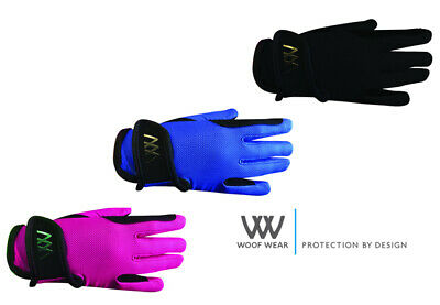 £13.99 • Buy Woof Wear YOUNG RIDER PRO GLOVE Children's Riding Gloves