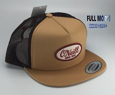 $22.95 • Buy New O´Neill East End Tan 1952 Classic Trucker ONeill Snapback Cap Hat