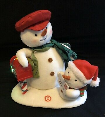 $29.99 • Buy Hallmark Jingle Pals 2018 Special Delivery Snowmen Lights Music Animation NEW