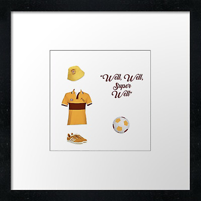 Motherwell FC (2)  Vintage Print Or Canvas Print. Example Shown 10  Framed Print • 21.50£