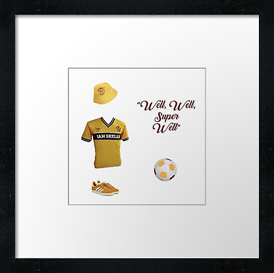 Motherwell FC (3)  Vintage Print Or Canvas Print. Example Shown 10  Framed Print • 21.50£