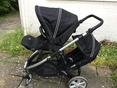 Britax B Dual Pushchair Black Great Condition  • 250£
