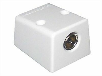 Antiference Coaxial TV Aerial Outlet Socket TV FM Surface Mount • 4.50£