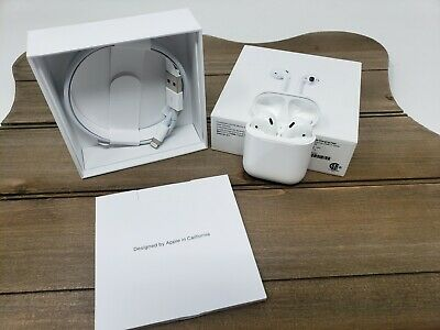 $ CDN127.52 • Buy Apple AirPods 2nd Generation With Charging Case - White *USED*