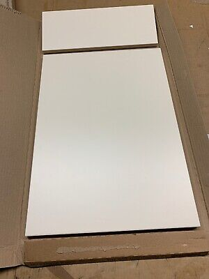 1 X Sandford  Ivory  Slab (B&Q)Kitchen Cabinet Door & Draw 400  X 715mm • 19.95£