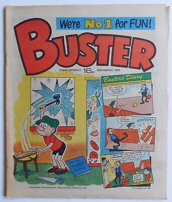 BUSTER Comic - 26th March 1983 • 2.99£