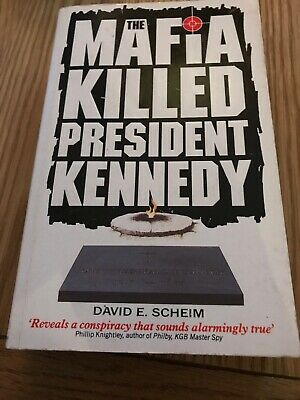 The Mafia Killed President Kennedy By Scheim, David E. Paperback Book The Cheap • 2£