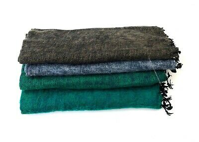 Yak Wool Soft Shawl Warm Wrap/HandLoomed Luxurious Light Large Scarves/ Handmade • 22.95£