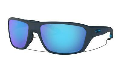 AU219 • Buy Oakley SPLIT SHOT Sunglasses Matte Translucent Blue Prizm Sapphire Polarised Len
