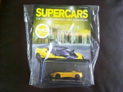 $ CDN22.35 • Buy  Panini Model Supercars Collection Die-Cast Metal Issue # 23 Lotus Evora 410 AU