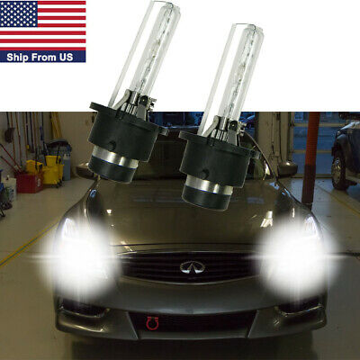 $21.99 • Buy D2S Xenon HID 6000K Headlight Bulb Direct Replacement For Infiniti G25 G35 G37