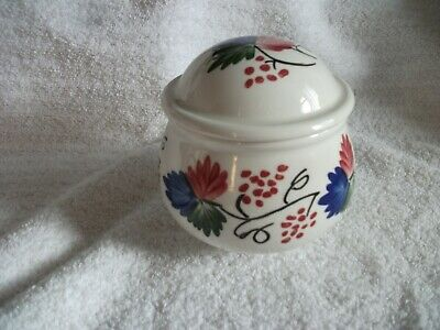 Portmeirion Welsh Dresser Lidded Sugar Bowl Ex Unused Cond • 8.99£