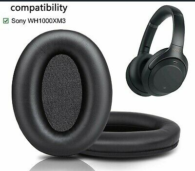 $ CDN26.07 • Buy Leather Ear Pads Covers For Sony Wh-1000xm1 Wh-1000xm2 Wh-1000xm3 Headphones UK