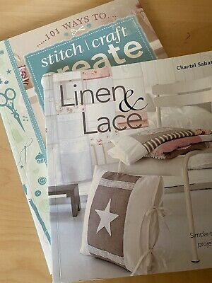Sewing Craft Books Set Of Two • 8£