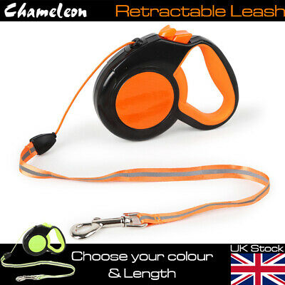 £9.85 • Buy Heavy Duty Large Dog Puppy Extendable Retractable Lead 3m, 5m Or 8m