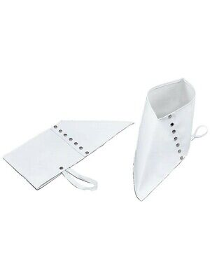 £3.49 • Buy White Spats Gangster Adult Shoe Covers Men's Adult 1920's Fancy Dress Costume