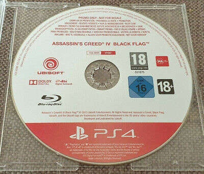 Sony Playstation 4 PS4 Game Assassin's Creed IV 4 Black Flag Promo Version • 5.99£