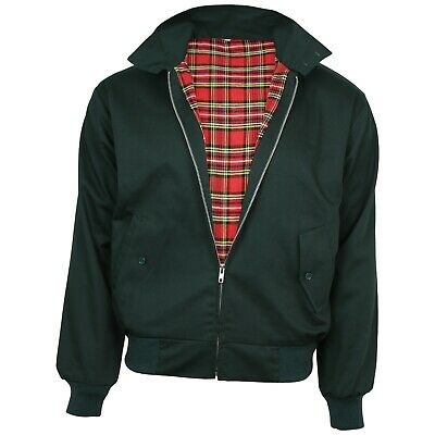 Relco NEW Bottle Green Harrington Jacket Skin Mod Scooter Ska Northern Soul  • 34.99£
