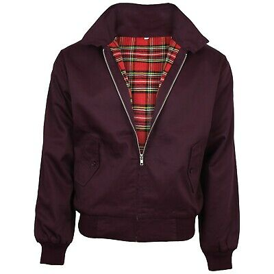 Relco NEW Burgundy Plum Harrington Jacket Skin Mod Scooter Ska Northern Soul  • 34.99£