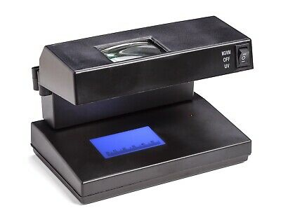 £8.99 • Buy Counterfeit Money Detector Magnifier UV Light Portable Forged Bank Note Tester