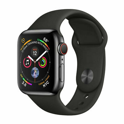 $ CDN463.96 • Buy Apple Watch Series 4 Stainless Steel 40mm 44mm (GPS + Cellular) Gray/Silver/Gold