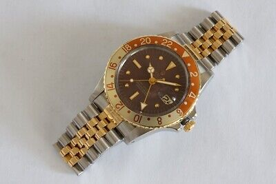 $ CDN19820.44 • Buy Rolex GMT Master 1675 Tiger Eye ,Root Beer , Matte Nipple Dial