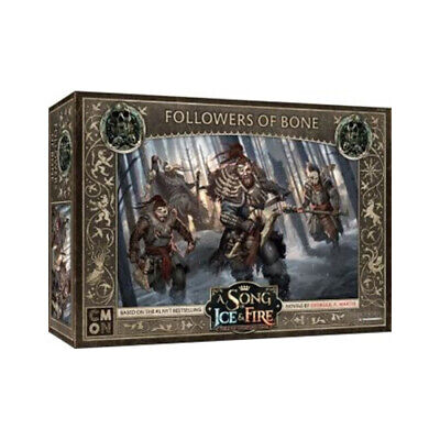 A Song Of Ice And Fire Expansion: Free Folk Followers Of Bone - Brand New • 27.74£