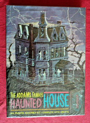 $ CDN3007.10 • Buy The Addams Family Haunted House Original Mint Seal 1965 Aurora Model Kit Horror