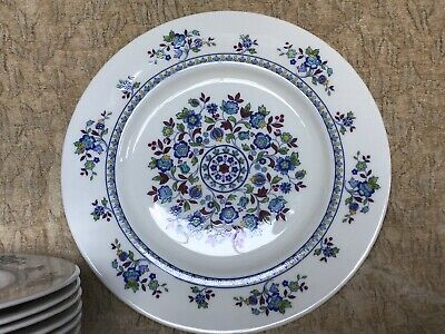 $ CDN125 • Buy Set Of 8x NEAR PERFECT Royal Doulton Plymouth Dinner Plates...more Pieces Listed