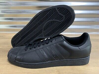 $ CDN90.08 • Buy Adidas Superstar 2 II Originals Lifestyle Shoes Triple Black Leather SZ (G14748)