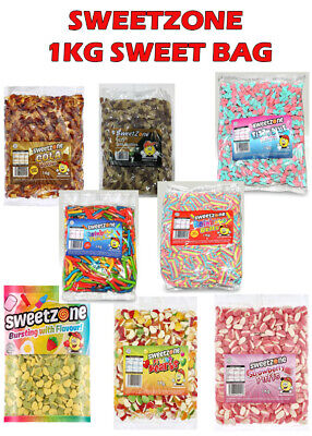 Sweet Zone Pick N Mix 1kg Bag Halal Sweets Discount Candy Party Favours • 7.69£