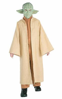 Childrens Deluxe Yoda Official Star Wars Kids Jedi Fancy Dress Costume Age 3-4 • 24.99£