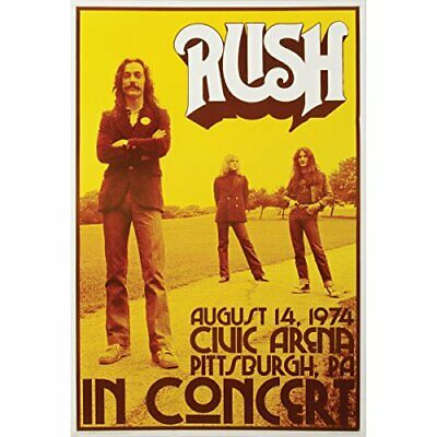 $12.99 • Buy Rush Concert Poster Print, 24 By 36-Inch