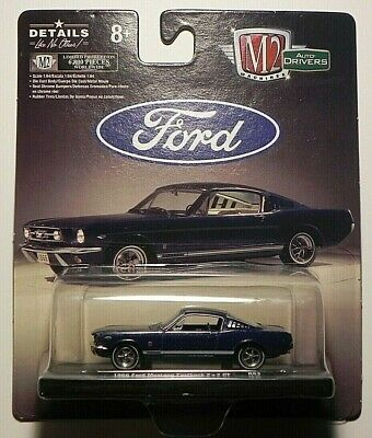 $ CDN16 • Buy M2 Machines Auto Drivers 1966 Ford Mustang Fastback 2+2 GT R 63 19-25 Only 6,800